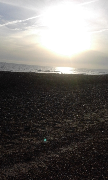 November sunshine on the beach 5